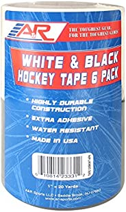 A&R Sports Black Hockey Tape,