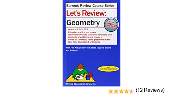 Amazon lets review geometry lets review series amazon lets review geometry lets review series 9781438003757 lawrence leff books fandeluxe Choice Image