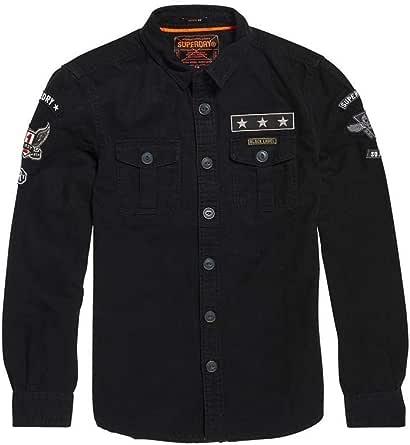 Superdry Military Storm, Camisa para Hombre 2XL Negro: Amazon.es: Ropa y accesorios