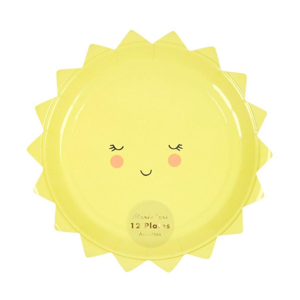 meri meri small sun plate