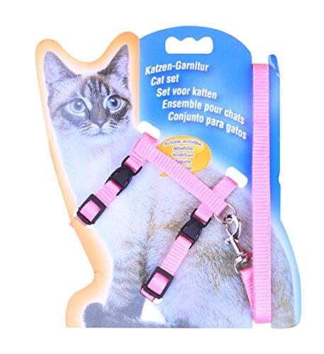 Freerun Cat Lead Leash Halter Harness Kitten Nylon Strap Belt Safety Rope Adjustable Cat Dog Collar - (Costume Store Near My Location)
