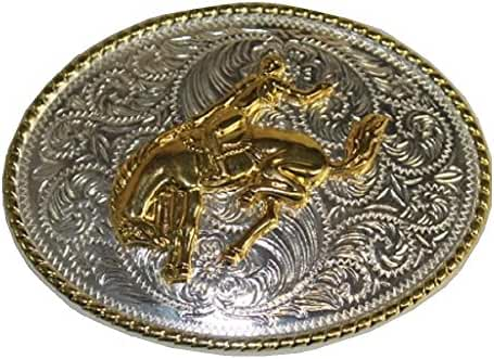 Western Rodeo Belt Buckle