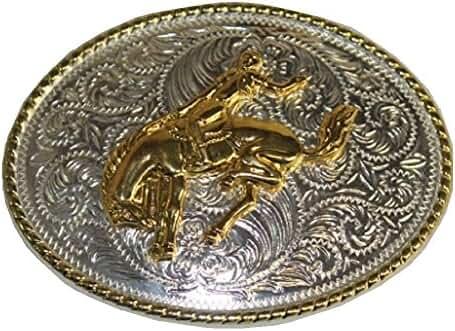 Western Rodeo Belt Buckle