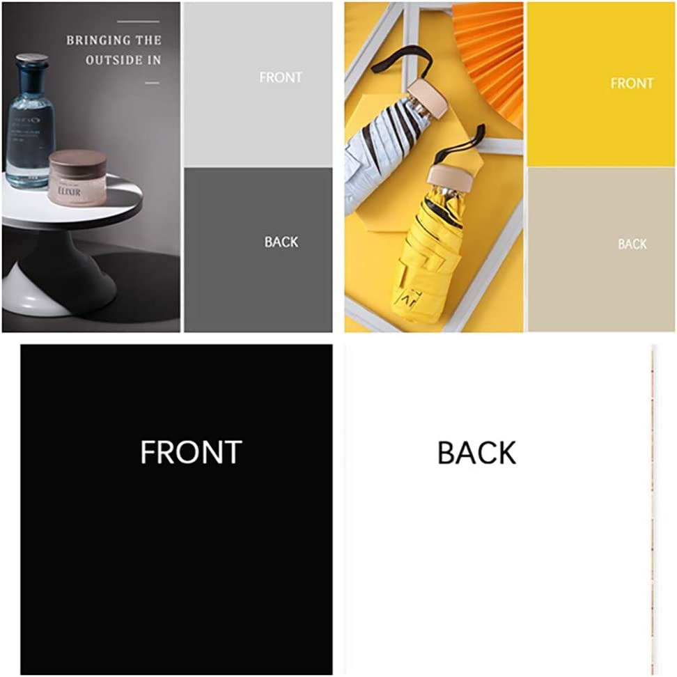 BEIYANG 3PCS 34.25x22.44 inch Double Sided Morandi Photography Background 2 in 1, Waterproof Paper Tabletop Backdrop Food Jewelry Cosmetics Makeup Small Product Props Professional Photo Shoot