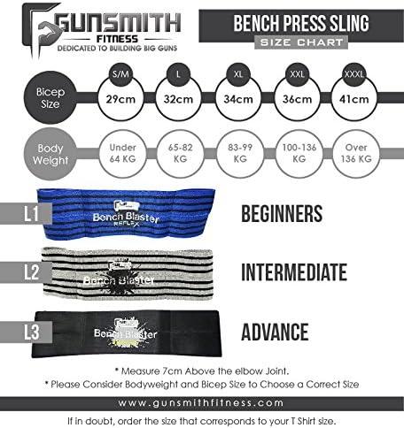 Bench Blaster Reflex Trainingsequipment Brust-G/ürtel f/ür Crossfit Gewichtheben Powerlifting Bankdr/ücken Fitness Gewichte und Krafttraining Liegest/ütze Dips Bodybuilding Muskelaufbau