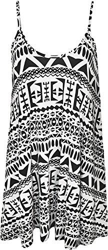taglia Canottiera stampa 26 donna A 4 da Aztec 8 Top Fashion Egyptian con Less EwqZXHZ8