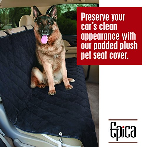 Epica-Deluxe-Pet-Bench-Car-Seat-Cover-Quilted-Water-Resistant-and-Machine-Washable-Black-Item-82247-56x47