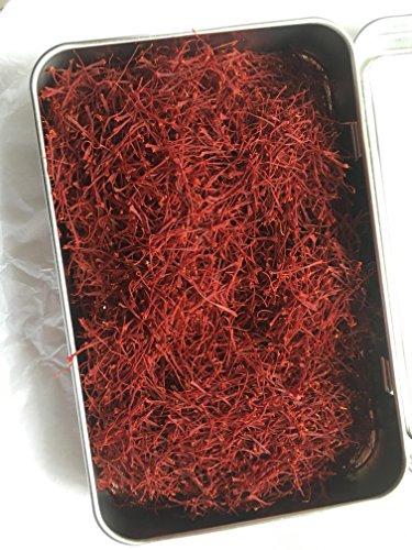 Persian Cyrus Saffron, 100% Natural cooking Grade all Red Premium Stigmas, non-GMO, [SUPER Negin], organically grown by Cyrus Saffron