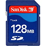 : SanDisk SDSDB-128-A10 Secure Digital 128MB (Retail Package)