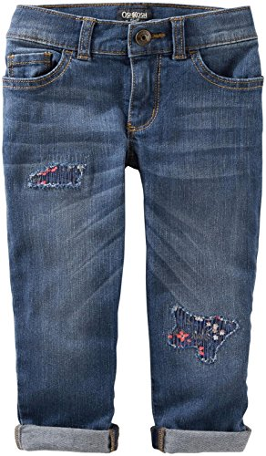 OshKosh B'gosh Girls Denim Pant, Denim, - Jeans Oshkosh Kids
