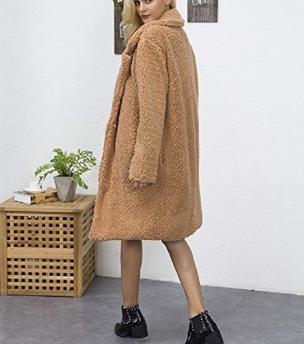 down Collare Tasche Grandi Outwear Di Delle As2 Inverno Donne Mogogo Turn Autunno Svago q8aw10tIW