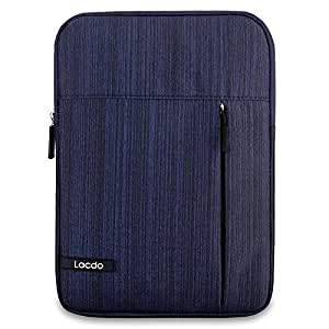 iPad Pro 10.5 Case, Lacdo Tablet Sleeve Case for 10.5 Inch iPad Pro | 9.7 inch New iPad | iPad Air 2 | iPad 4, 3, 2 | Samsung Galaxy Tab 10.1 Inch Protective Travel Pouch Bag Water Repellent, Blue