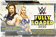 2020 Topps WWE Fully Loaded Wrestling Hobby Box 1 Encased Auto/Auto Relic Per Box