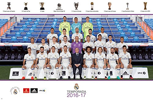 Trends International Real Madrid Team Wall Poster