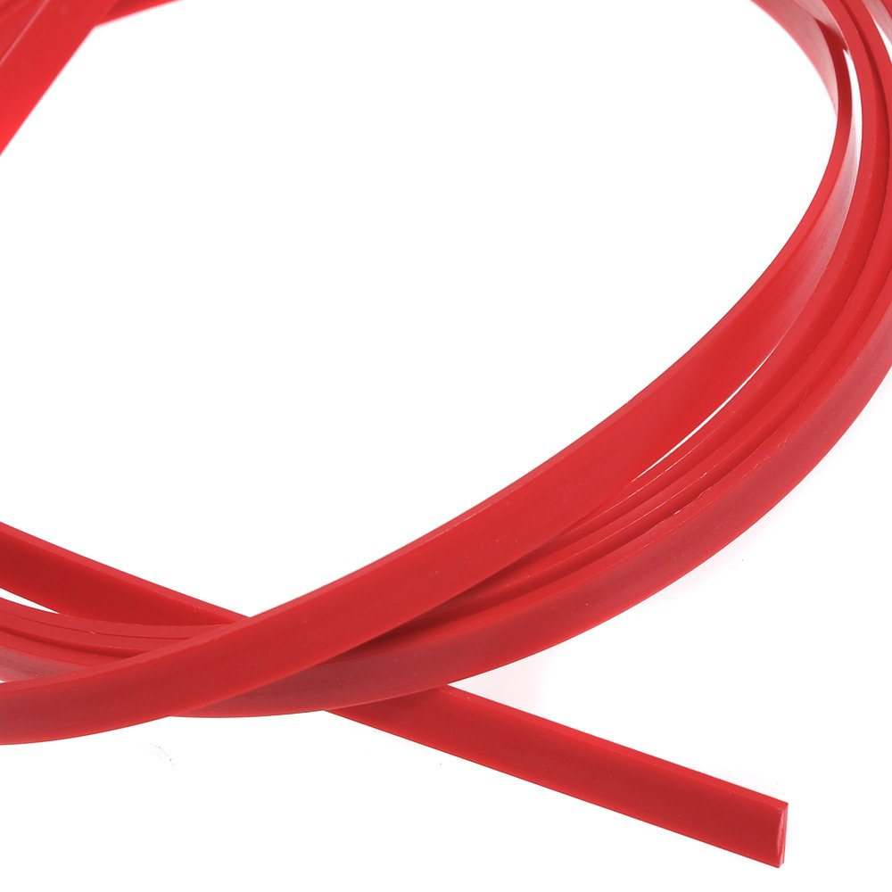 3pcs Red ABS 5 Feet Guitar Binding Purfling Strip 1650 x 6 x 1.5mm Ltd Gui-0181
