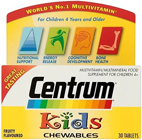 Centrum Kids Chewable Tablets (30) - Pack of 2