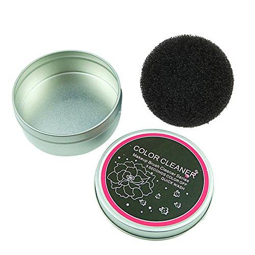 TOOGOO Make-up Pinsel Reiniger Schwamm Entferner Farbe aus Pinsel Lidschatten Schwamm Werkzeug