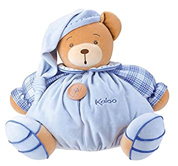 KALOO 969439 Blue Pyjama Bär Blau 40cm: Amazon.de: Baby