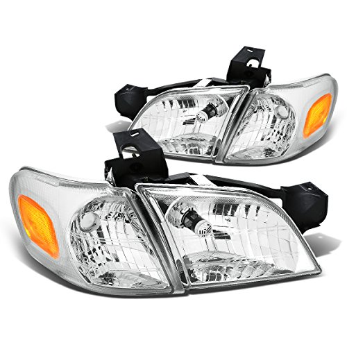 (DNA Motoring HLOHCV974PCHAM Headlight (Driver & Passenger Side))