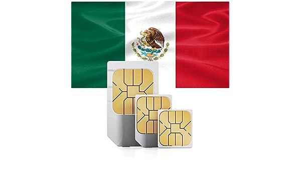 travSIM v-de-mexiko-100mb7 México: Amazon.es: Electrónica