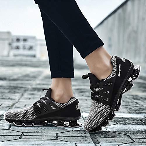 Un 38 Un color Tamaño Transpirable Deportivo Parejas Xue De Running Hombre Calzado Para gTazRR