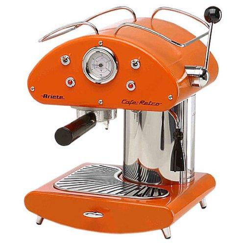 Ariete Cafetera expreso Retro Naranja: Amazon.es: Hogar