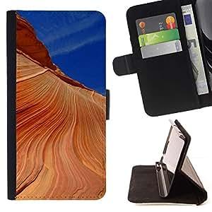 Momo Phone Case / Flip Funda de Cuero Case Cover - Naturaleza Hermosa Forrest Verde 190 - Samsung Galaxy J3 GSM-J300