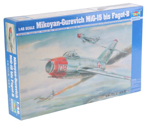 Trumpeter 1/48 Mig15 Bis Fagot B Fighter Model Kit (Mig 15 Fighter)