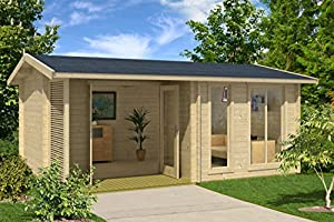 Amazoncom Allwood Sommersby 174 SQF Garden House Kit