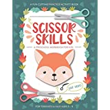 Scissor Skills Preschool Workbook for Kids: A Fun Cutting Practice Activity Book for Toddlers and Kids ages 3-5: Scissor Prac