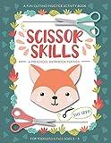 Scissor Skills Preschool Workbook for Kids: A Fun
