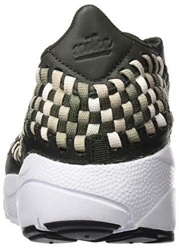 Nike Air Footscape Woven Nm, Chaussures de Gymnastique Homme, Vert (Sequoia/Lt Orewood Brn/Sail/White), 42 EU