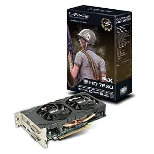 Sapphire Radeon HD 7850 1GB GDDR5 - Tarjeta gráfica (Radeon HD 7850, 2560 x 1600 Pixeles, ATI, 1024 MB, GDDR5-SDRAM, 256 Bit)