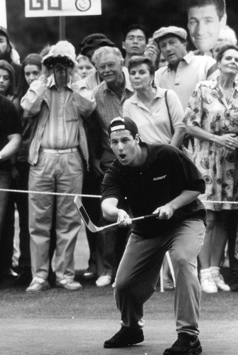 Adam Sandler in Happy Gilmore on golf course 24x36 Poster from Silverscreen