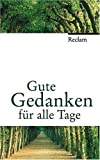 img - for Gute Gedanken f r alle Tage book / textbook / text book