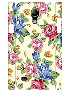 Custom Hard Plastic Samsung Galaxy S4 Mini I9195 Phone Cover Case Hipster Flower Pattern
