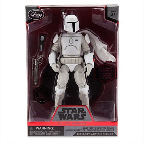 (Disney Star Wars Elite Series Boba Fett Prototype Armor Diecast)
