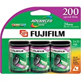 Fujifilm 200 Speed APS Film 25 Exposures - 3 Pack