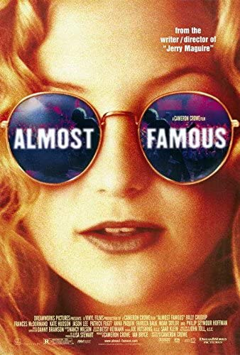 Amazon.com: Almost Famous Movie POSTER 27 x 40 Kate Hudson, Billy Crudup,  A, MADE IN THE U.S.A.: Posters & Prints