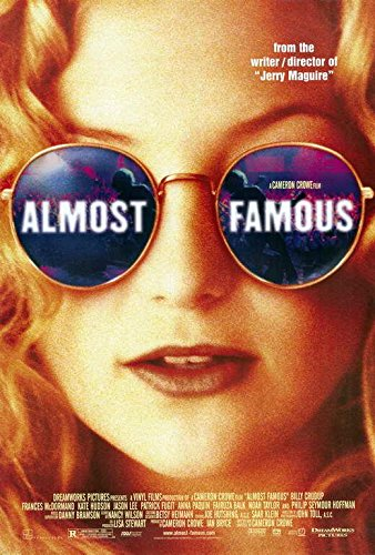 Almost Famous Movie Poster Kate Hudson, Billy Crudup, A, Made In The U.S.A