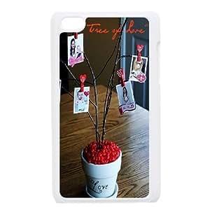 Custom Love Tree Ipod Touch 4 Phone Case, Love Tree DIY Cell Phone Case for iPod Touch4 at Lzzcase