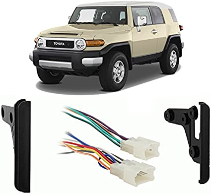Compatible with Toyota FJ Cruiser 2007-2010 Double DIN Harness Radio on toyota wiring harness 16 pin diagram, toyota radio harness, toyota dvd player, toyota alternator rebuild kit, toyota wiring harness parts, toyota engine wiring harness, dual car stereo wire harness, toyota pickup wiring harness, toyota stereo wirin harness vg, toyota 22r performance, toyota dvd wiring harness, toyota tacoma wiring harness, toyota wiring diagrams color code,