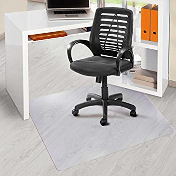 Amazon Com Office Marshal 174 Pvc Office Chair Mat For Hard