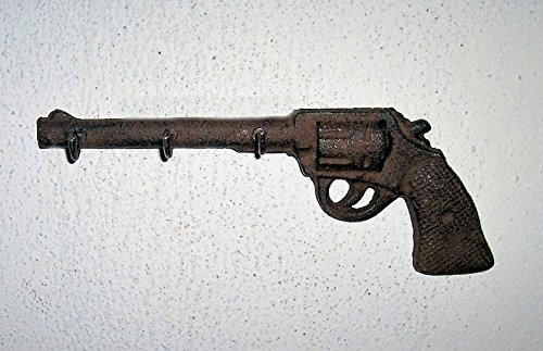 """""""ABC Products"""" - Heavy Cast Iron - Western Six Shooter - Wit"""