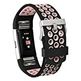 Product review for Fitbit Charge 2 Bands, DDup Replacement Wristband for Fitbit Charge 2, Small Large Accessories Bands