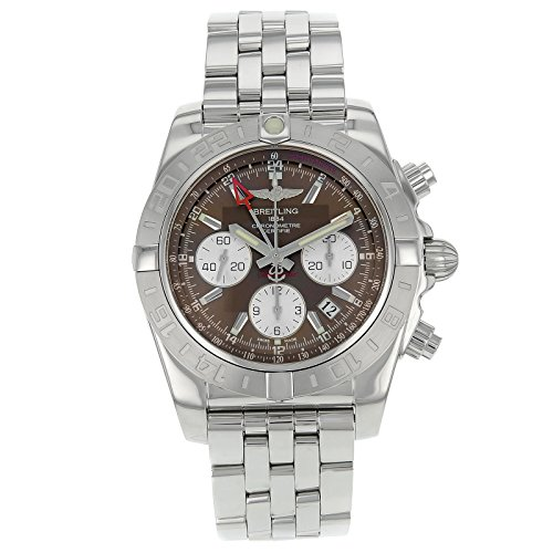 Breitling Men's BTAB042011-Q589SS Chronomat Analog Display Swiss Automatic Silver Watch