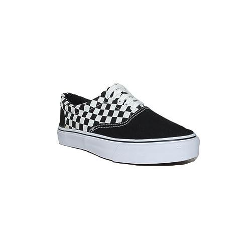 JECKNI - JECKNI Converse VANSTELA Cuadros Y887-05 Zapatillas Lona Mujer Negras Moda Verano Casuales - Negro, 41: Amazon.es: Zapatos y complementos
