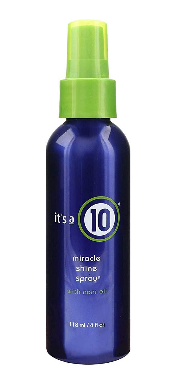 ITS A 10 MIRACLE SHINE SPRAY WITH NONI OIL 4 OZ UNISEX