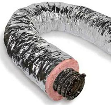 25 Box Quietflex 8 R8.0 Metalized Insulated Flex Duct
