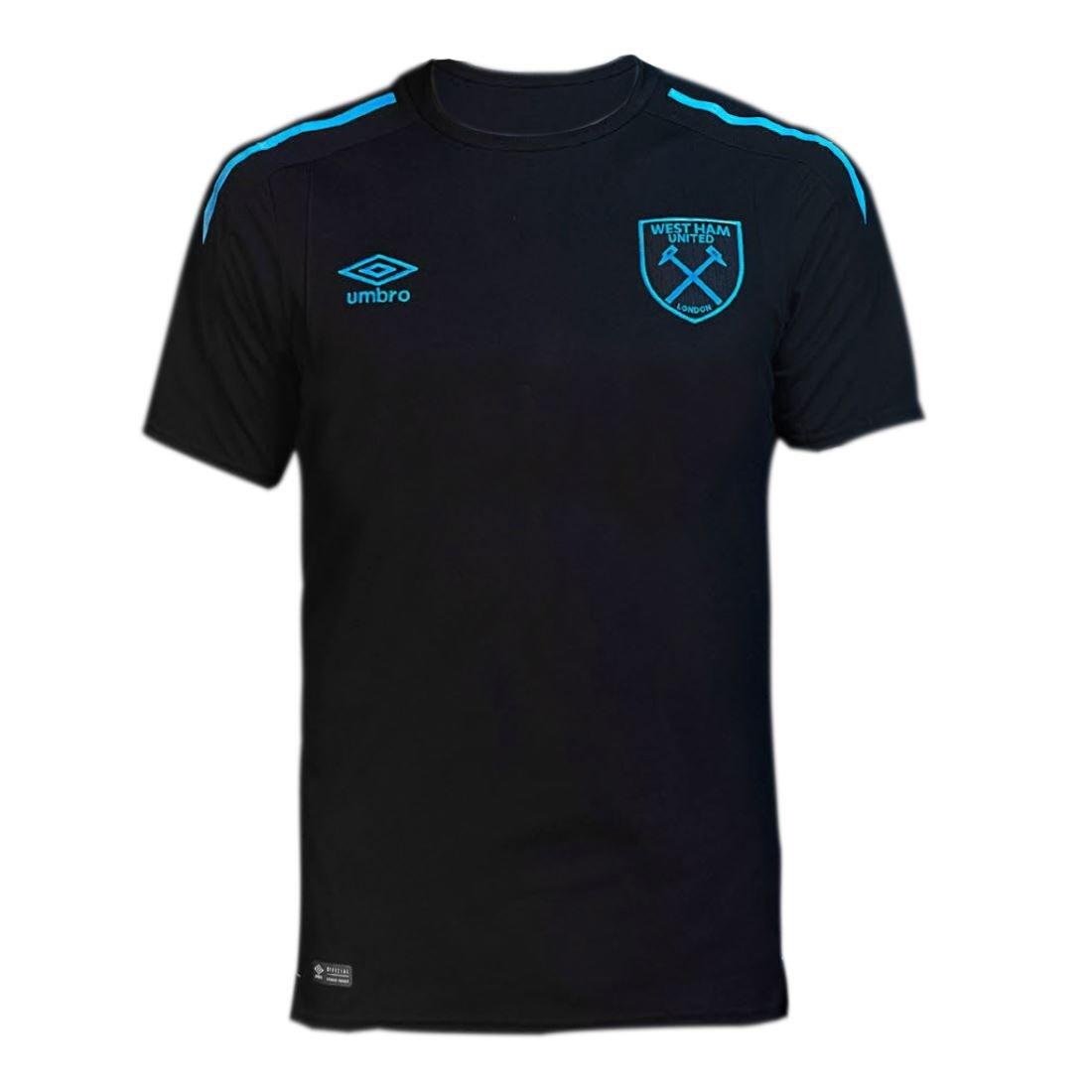 Umbro 2017-2018 West Ham Away Football Soccer T-Shirt Trikot (Kids)